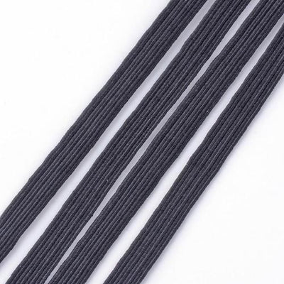 Elastic Black 10mm