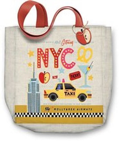 NYC Canvas Tote