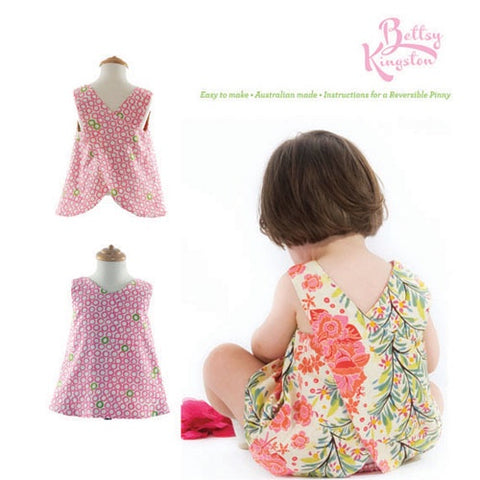 Crossover Pinny and Nappy Cover