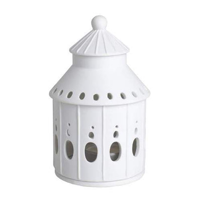 Porcelain House Tealight - Fairy Castle