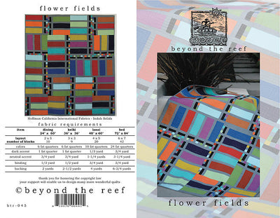 Flower Fields Quilt Pattern