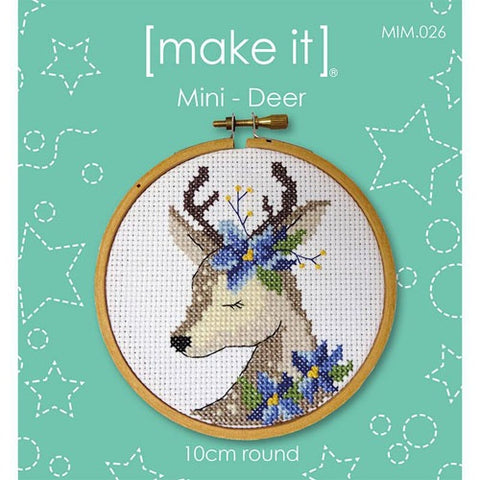 Make It Mini Deer Cross Stitch Kit