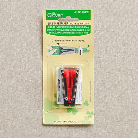 "Clover Bias Tape Maker 18mm (3/4"")"