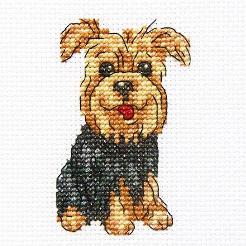 Cheerful Archie Cross Stitch Kit