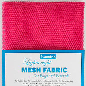 Lightweight Mesh  Fabric Hot Pink