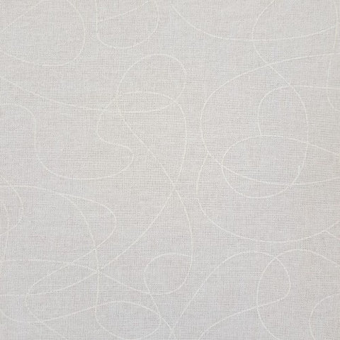Squiggle Cream Quilt Backer