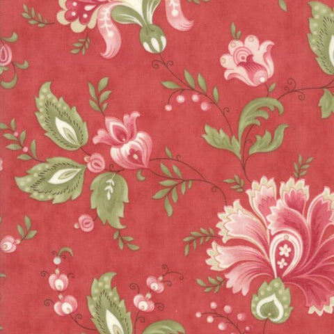 Porcelain Feature Floral in Rose