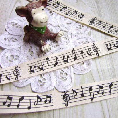 Musical Notes Tape
