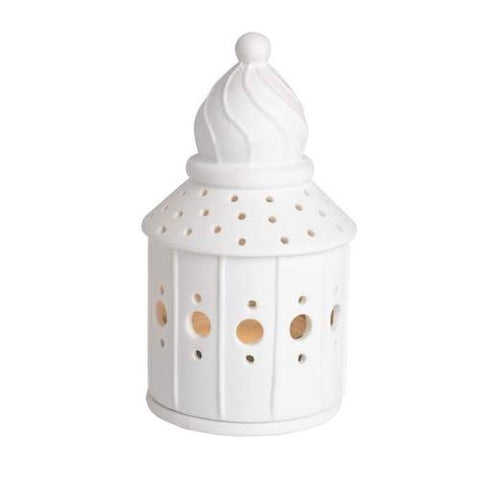 Porcelain House Tealight - Confectionary Shop