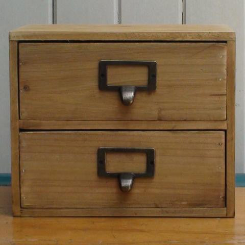 Zakka 2 Drawer Cabinet