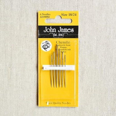 John James Chenille Sewing Needles 18/24