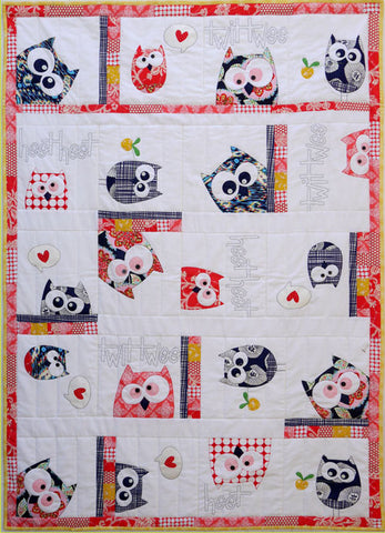 Family of Owls Quilt