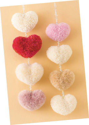 Pom Pom Maker Heart Shape Small