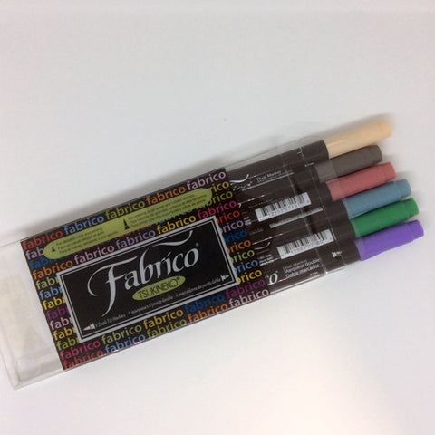 Fabrico 6 Dual Markers Set - Pastel
