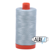 Aurifil Cotton Mako 2847 Bright Grey Blue 50 wt