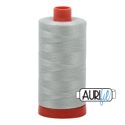 Aurifil Cotton Mako 2912 Platinum 50 wt