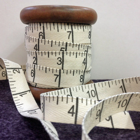 Measuring Tape Twill Inches