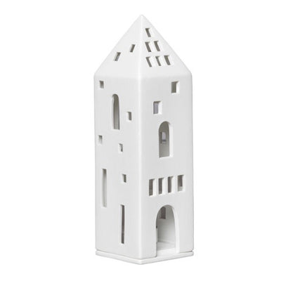 Porcelain House Tealight - Tower