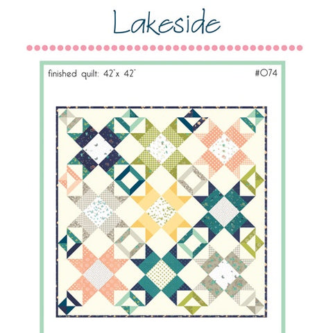 Lakeside Quilt Pattern