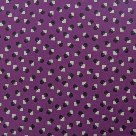 Circle and Square Purple