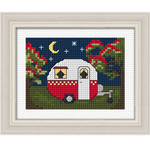 Caravan Christmas Counted Cross Stitch Kit