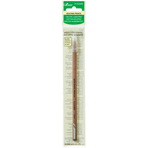 Clover Quilting Pencil Silver