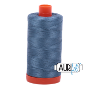 Aurifil Cotton Mako 1126 Blue Grey 50wt