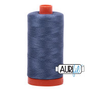 Aurifil Cotton Mako 1248 Dark Grey Blue 50 wt