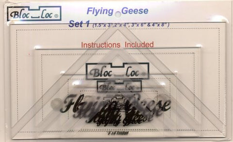 Bloc Loc Flying Geese Set 1
