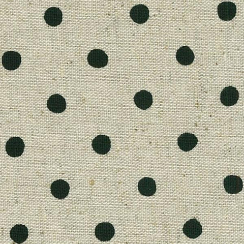 Natural Linen with Black Spot