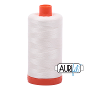 Aurifil Cotton Mako 2026 Chalk 50wt