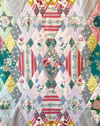 Darling Clementine Quilt Pattern and Templates
