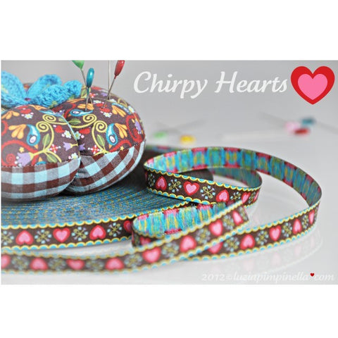Chirpy Hearts Ribbon