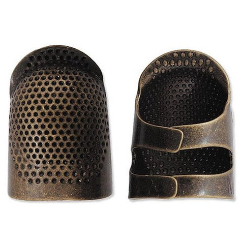 Clover Open Sided Thimble Medium
