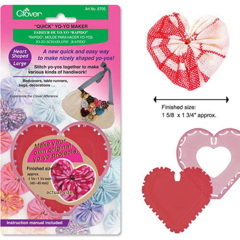 Clover Heart Yo-Yo Maker Large