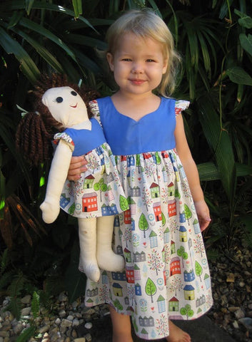 Sweetheart Dress for My Doll and Me