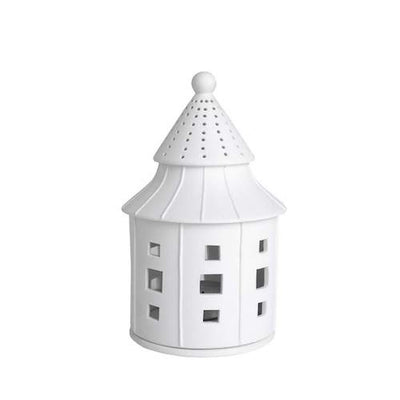 Porcelain House Tealight - Dreamhouse