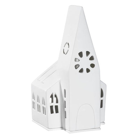 Porcelain Church Tealight
