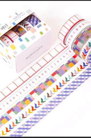 Planner Washi Tape Set