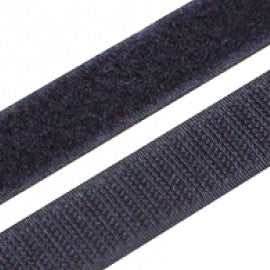Hook and Loop Tape Black 1 inch