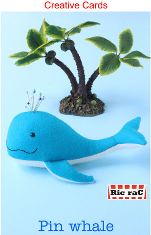 Pin Whale Creative Card