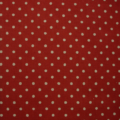Sevenberry Red Linen Spot
