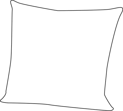 50 x 50 cm Zippered Cushion