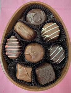 Handmade Chocolate Egg Box