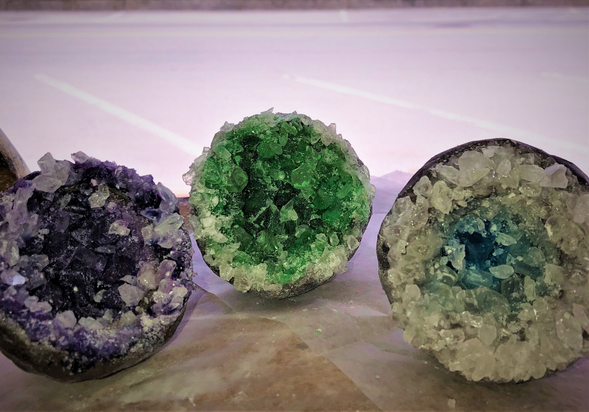 Beautiful Handcrafted Candy Geode