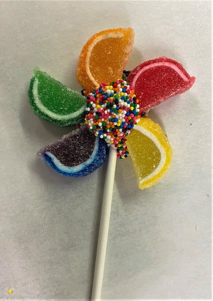 Colorful Candy Pinwheels
