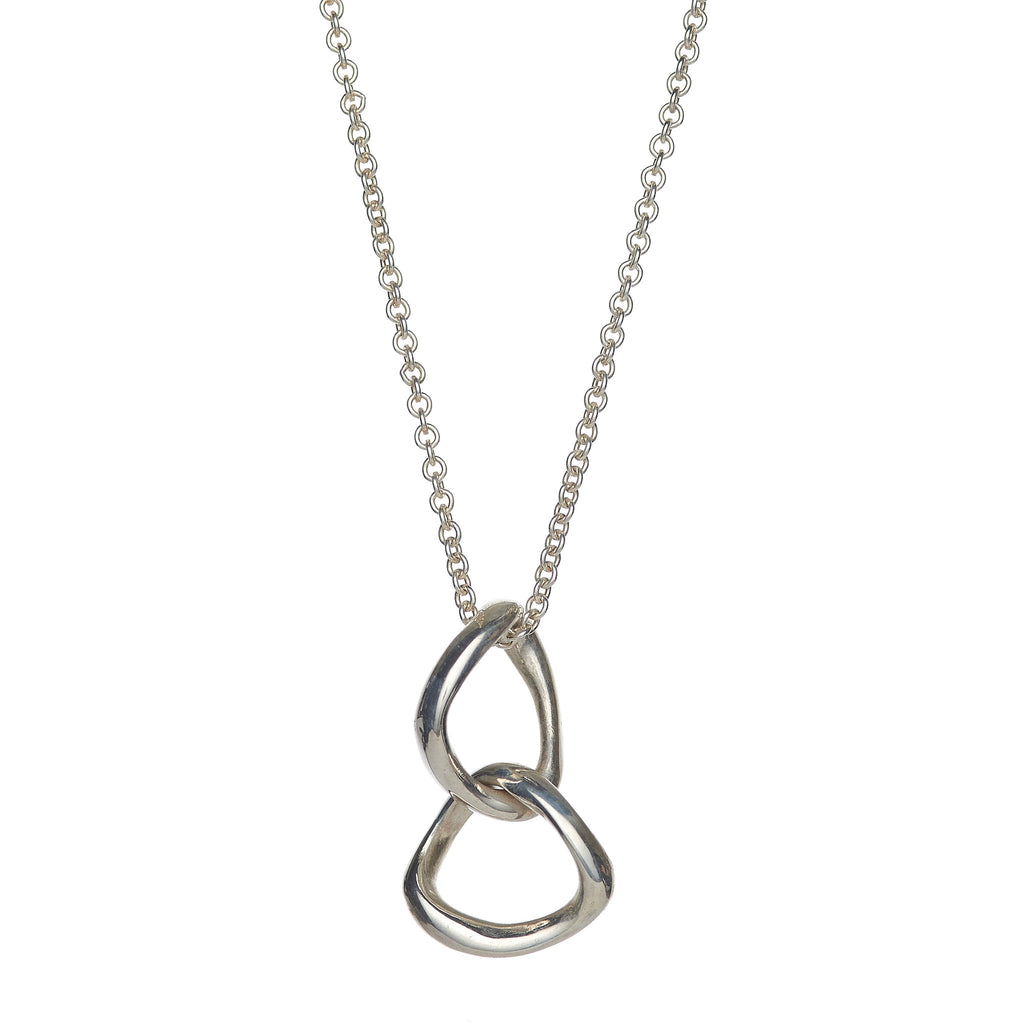 Double Bent Loop Necklace