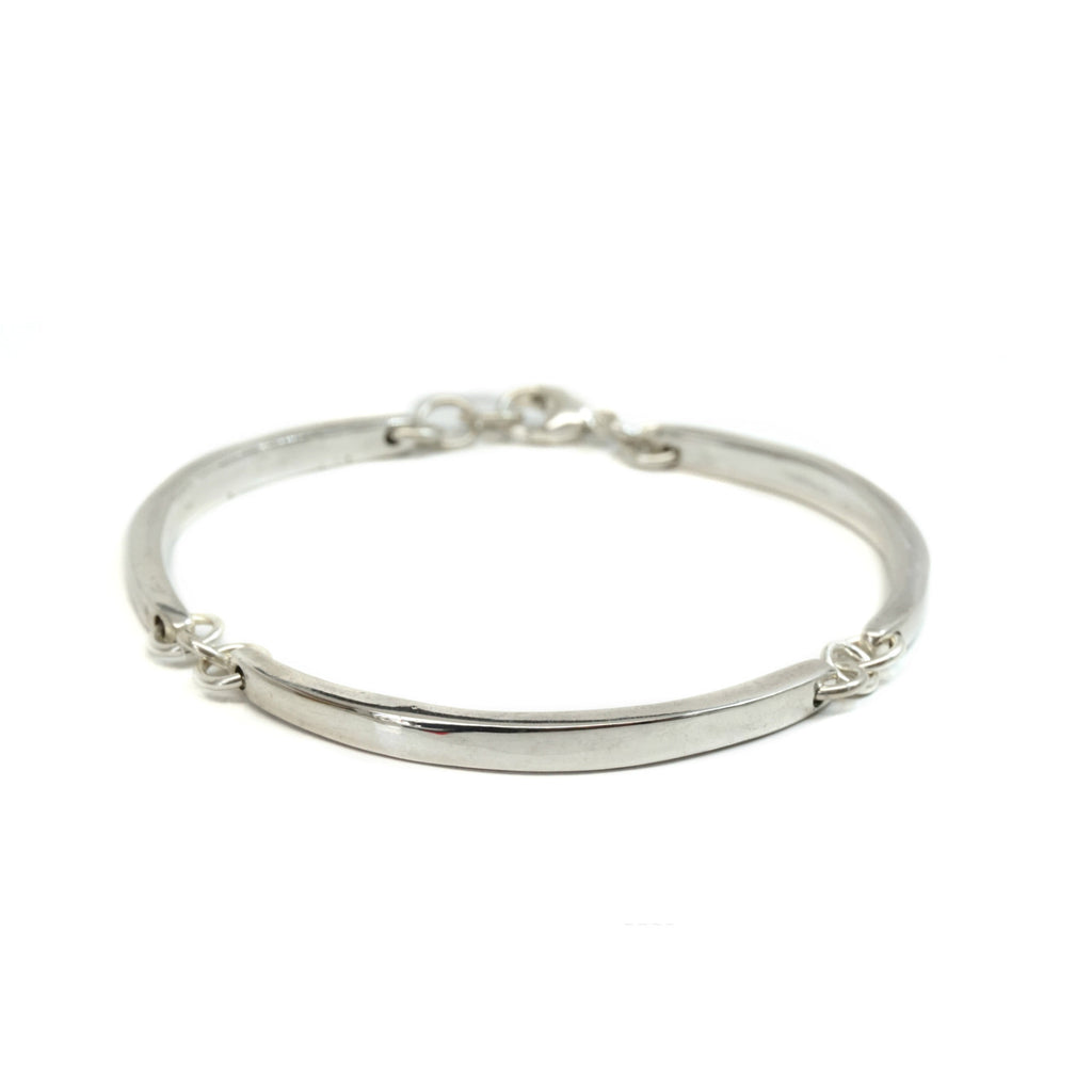 Medium Curved Bar Bracelet
