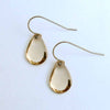 Thin Medium Tear Drop Earrings