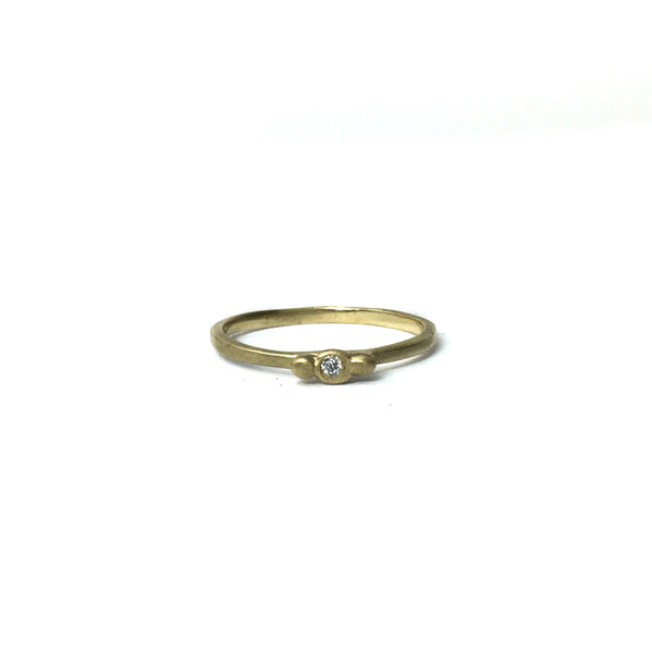 14k Victorian stacking ring